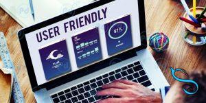 user friendly-وب سایت