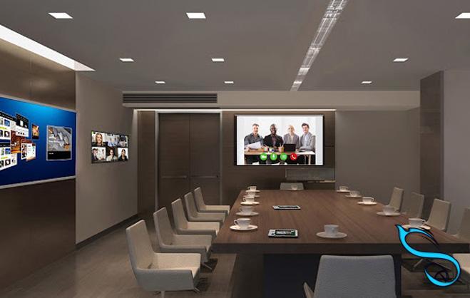 video-conference-تماس صوتی و تصویری